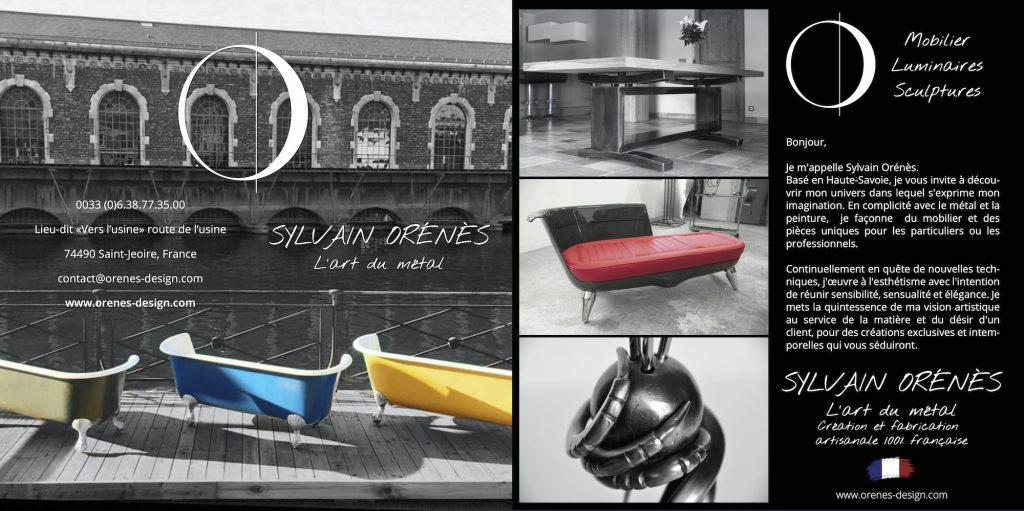 Dépliant Orenes Design
